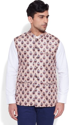 Very Me Sleeveless Floral Print Men's Jacket