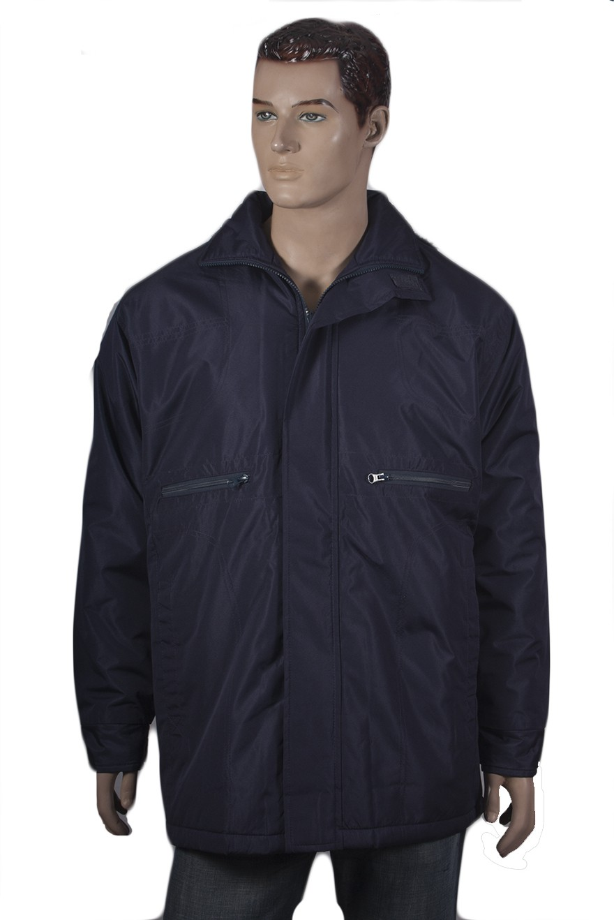 Warmline Full Sleeve Solid Men's Quilted Jacket - Knit Wear