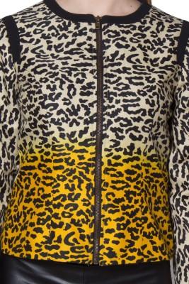 Eva De Moda Full Sleeve Animal Print Women's Jacket