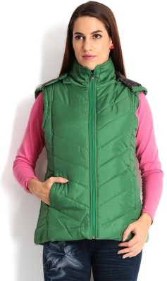 Thinline Sleeveless Solid Women's Jacket