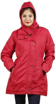 Hiver Full Sleeve Solid Women's Zipper Jacket