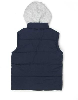 London Fog Sleeveless Solid Boy's Jacket