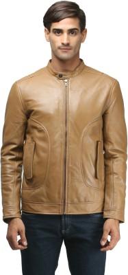 JUSTANNED Full Sleeve Solid Men's Jacket