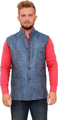 Maveric Sleeveless Solid Men's Jacket
