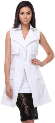 Kaaryah Sleeveless Solid Women's Jacket