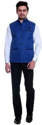 Alnik Sleeveless Solid Mens Jacket
