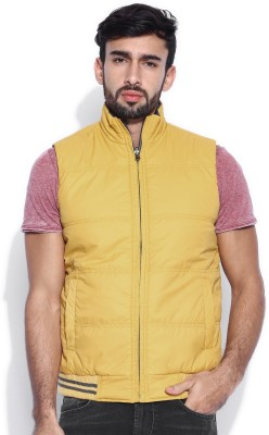 Kook N Keech Sleeveless Solid Men,s Jacket