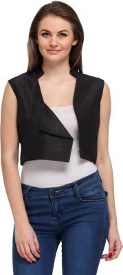 Fashionwalk Sleeveless Solid Women's Jacket