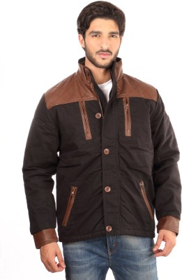 Again Full Sleeve Solid Men's Fashion Jacket