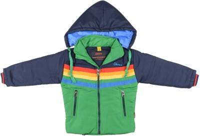 Okane Full Sleeve Solid Boy,s Jacket