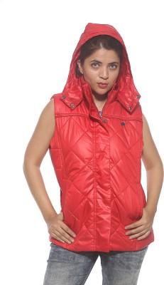 Spykar Sleeveless Solid Women's Jacket