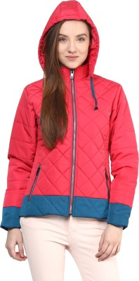 Orewa Full Sleeve Solid Women's Jacket at flipkart