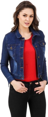 99 Affair Full Sleeve Solid Womens Denim Jacket