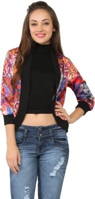 Tong Full Sleeve Printed Women's Jacket Jacket