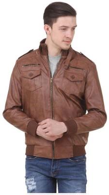 bulls Eye Full Sleeve Solid Men's Jacket