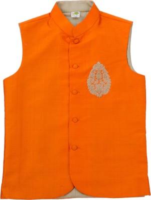 Little Stars Sleeveless Printed Boy's Jacket