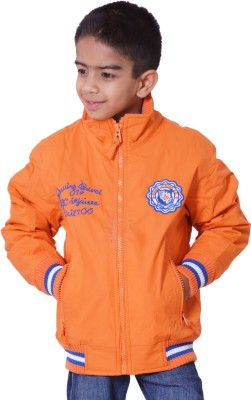 Little Bugs Full Sleeve Solid Boy's Quilted Jacket