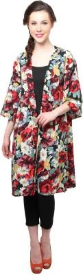XnY 3/4 Sleeve Floral Print Women's Jacket
