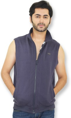 Riot Jeans Sleeveless Solid Men's Jacket