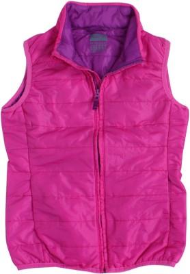 INDIRANG Sleeveless Solid Girl's Jacket