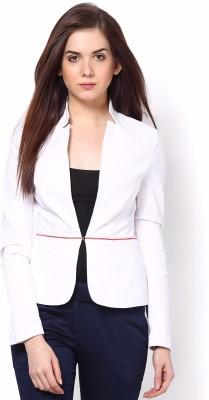 Kaaryah Full Sleeve Solid Women's Fashion Linen Jacket