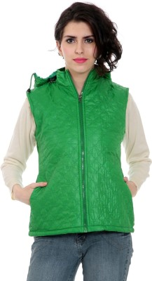 Tab 91 Sleeveless Solid Women's Women's Jacket Jacket