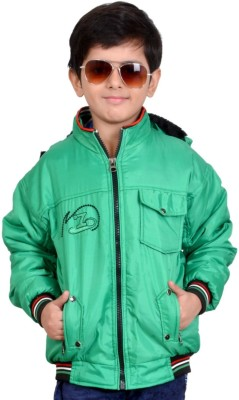 Kabeer Full Sleeve Solid Boys Jacket