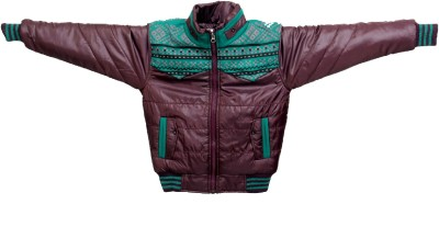 Enclothe Full Sleeve Self Design Boys Jacket