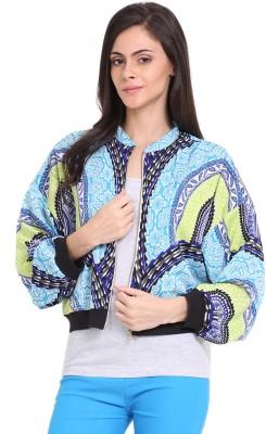 Ridress Full Sleeve Printed Women's Jacket