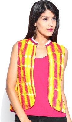 Anouk Sleeveless Printed Women,s Quilted Jacket