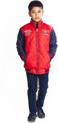 Rise Up Full Sleeve Solid Boy's Jacket