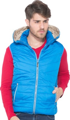Status Quo Sleeveless Solid Men's Quilted Jacket