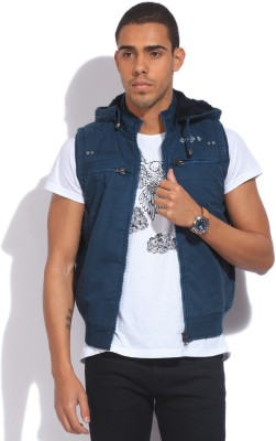 Fort Collins Sleeveless Striped Men's Quilted Jacket