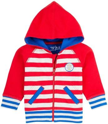 Mom & Me Full Sleeve Striped Boy's Jacket