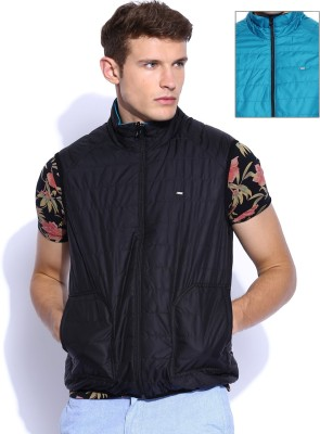 Lee Sleeveless Solid Men's Jacket