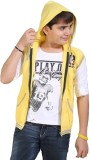 Kiddu Solid Boys Jacket