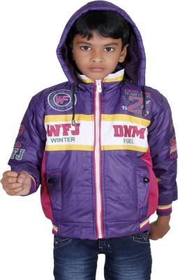 Winter Fuel Full Sleeve Striped Boys Jacket