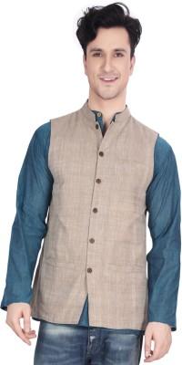 Ecostyle Sleeveless Woven Men,s Mangalagiri Jacket