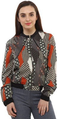 Oxolloxo Full Sleeve Printed Women's Jacket at flipkart