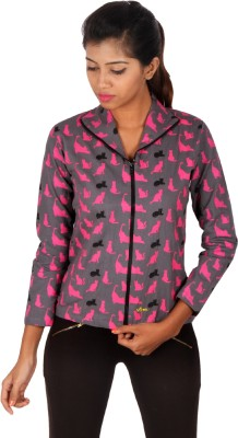 Vizwa Full Sleeve Printed Women's Jacket