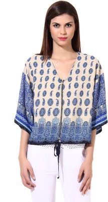 Oxolloxo Sleeveless Printed Women's Jacket