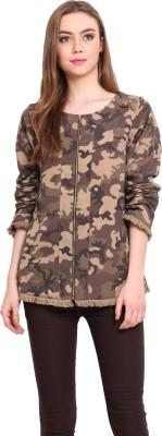 Instacrush Full Sleeve Printed Women's Jacket