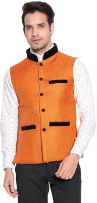 Alnik Sleeveless Solid Men,s Jacket