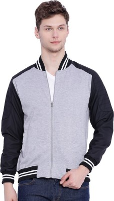 Campus Sutra Full Sleeve Solid Mens Jacket
