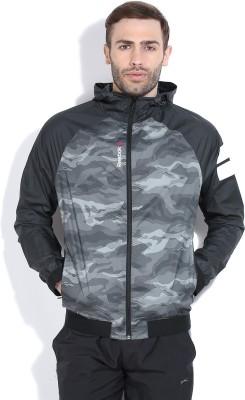 Reebok Full Sleeve Printed Men's Sports Jacket Jacket