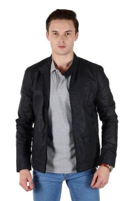 FRANK JEFFERSON Full Sleeve Solid Men's Jacket