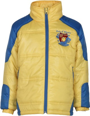 Bells and Whistles Full Sleeve Solid Boy's Jacket