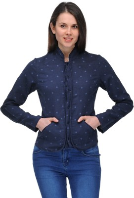 Pique republic Full Sleeve Floral Print Women's Jacket