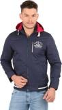 Oxemberg Full Sleeve Solid Men's Jacket