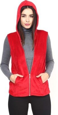 Martini Sleeveless Solid Women's Jacket